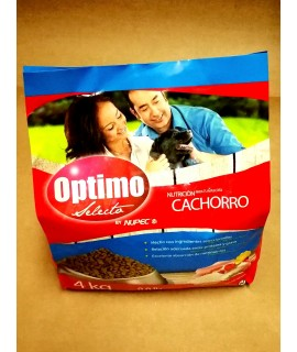 OPTIMO CACHORRO 4 KG