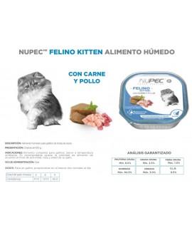 HUMEDO FELINO KITTEN C/4 PZAS 100 GR