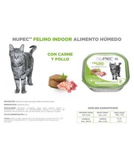HUMEDO FELINO INDOOR C/4 PZAS 100 GR