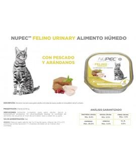 HUMEDO FELINO URINARY (2) & HAIRBALL (2) PZAS 100 GR